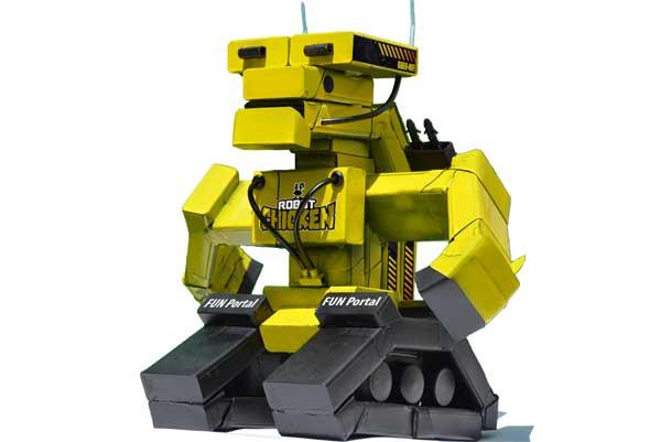 Крутий робот своїми руками