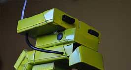 Робот из пачек 1