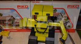 Робот из пачек. Фото 4