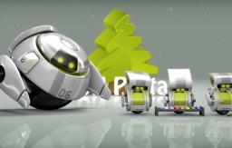 Christmas-robots