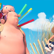 Мультфильм-Пляж